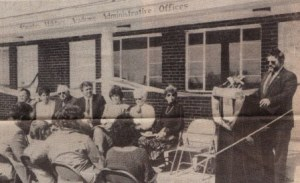 SMA Alumni Association Office Dedication March 1989