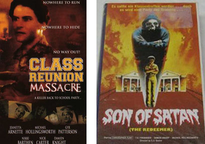 Posters for the movie filmed at SMA in the Summer of 1976