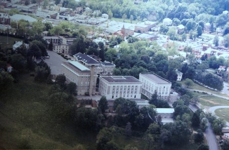 The Grounds of the Staunton Military Academy circa 1978