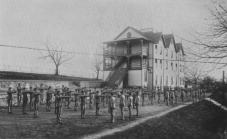 Cadet Barracks circa 1900