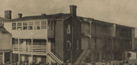 First Mess Hall attached to rear of The Wing circa 1912