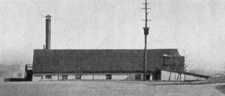 Laundry Building on Northeast edge of Plaza circa 1910