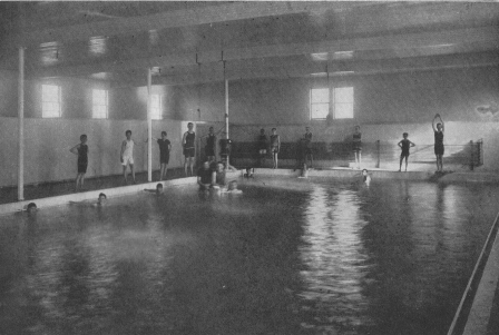 Interior of Natatorium circa 1913