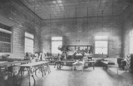Interior of Kitchen circa 1913