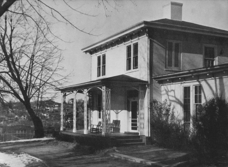 Front of Skinner House circa 1934
