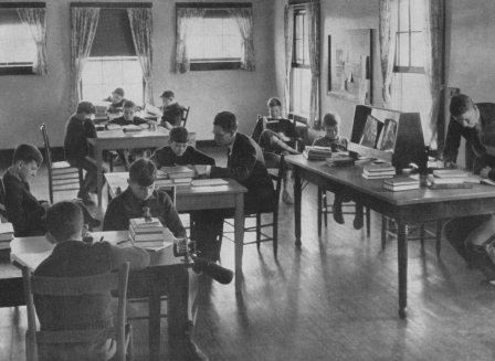 Junior School Classroom circa 1935