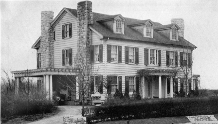 The Commandant's House circa 1928
