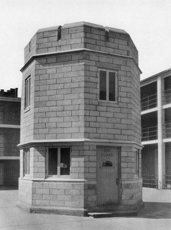 Exterior of Guard House circa 1928