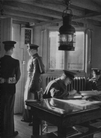 Interior of Guard House circa 1948