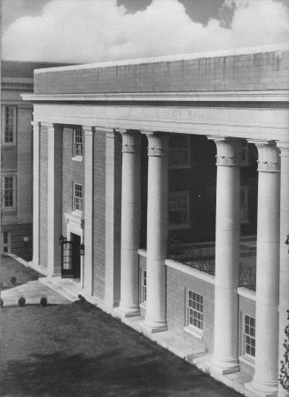 Kable Hall circa 1934