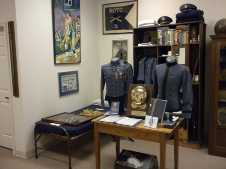 Mockup of Cadet Room in Museum circa 2014