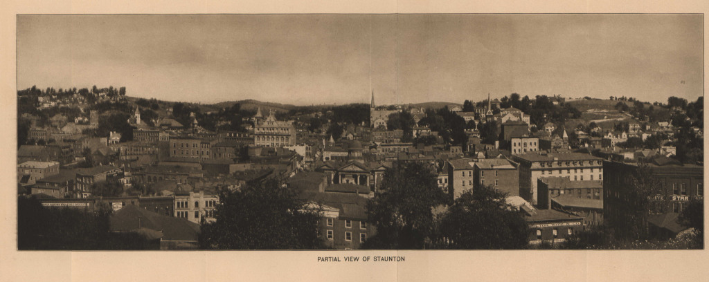 1912 View of Staunton