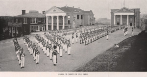 1920 Corps Full Dress on Upper Asphalt