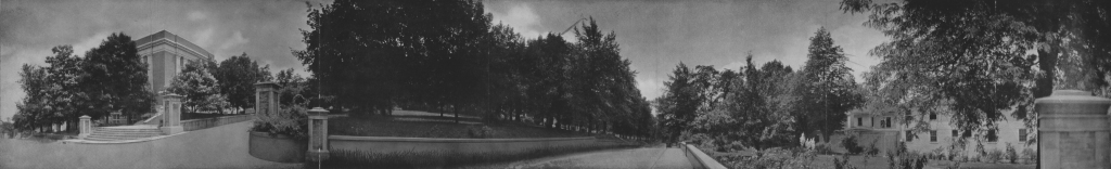 1929 Prospect Street View of Campus