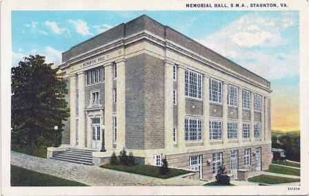 1930 Memorial Hall