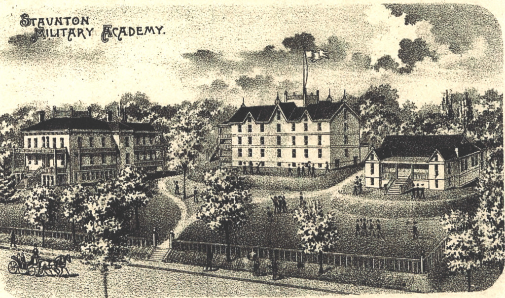 Drawing of SMA circa 1890